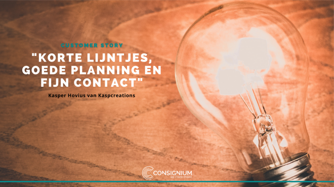 Customer story Consignium & Kaspcreations